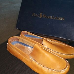 Polo Mens Terrence Size 11D Tan/Calf Shoes
